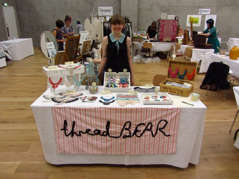 ThreadBEAR at the Nottingham Contemporary Summer Craft Fair
