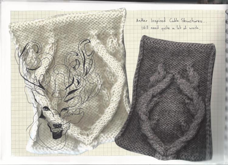 Clare Mountain's Sketch Book Page