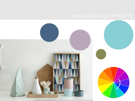Colour Harmony Palette - Analogous Colours