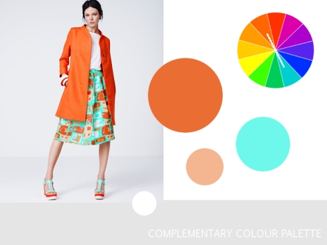 Colour Harmony Palette - Complementary Colors
