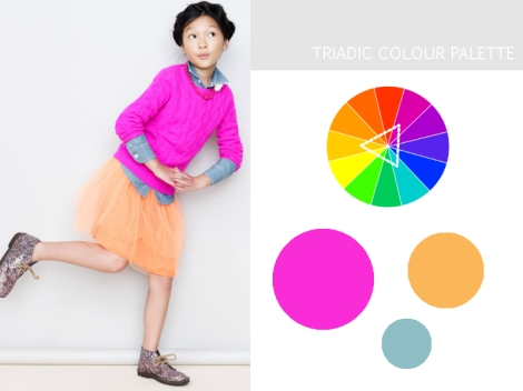 Colour Harmony Palette - Triads Colors