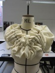Pleated Knit Structure on the Mannequin